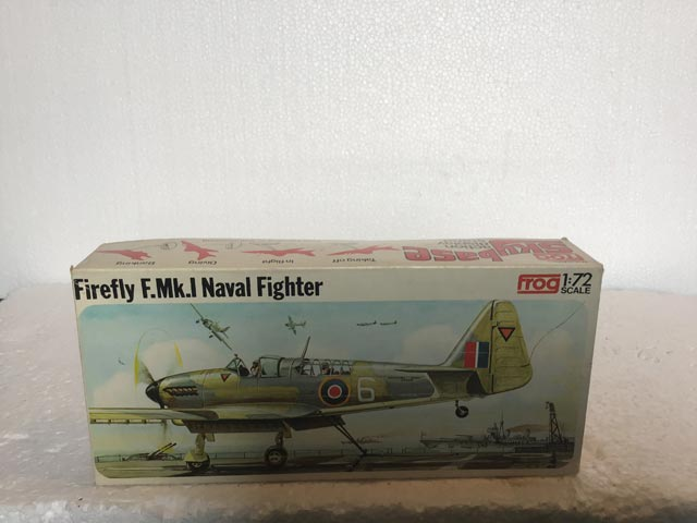 Frog Model Kits - Firefly F.MK.I Naval Fighter 1:72 Scale