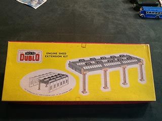 Hornby Dublo Engine Shed Extension Kit
