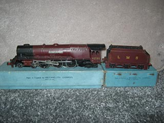 Hornby Dublo EDl2 LMS Duchess Class Locomotive Duchess of Atholl 4-6-2 With Tender