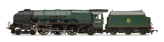 Hornby Railways R3195 BR 4-6-2 City of Liverpool