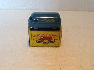 Matchbox Series 1-75 No 34 Volkswagen 15 cwt Van Matchbox International Express