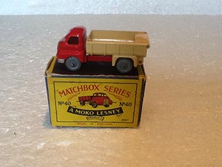 Matchbox Series 1-75 No 40 Bedford 7 Ton Tipper