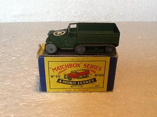 Matchbox Series 1-75 No 49 M3 Personnel Carrier