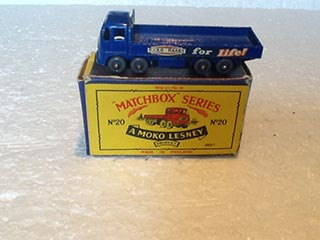 Matchbox Series 1-75 No 20 E.R.F. 68G Truck Ever Ready for Life