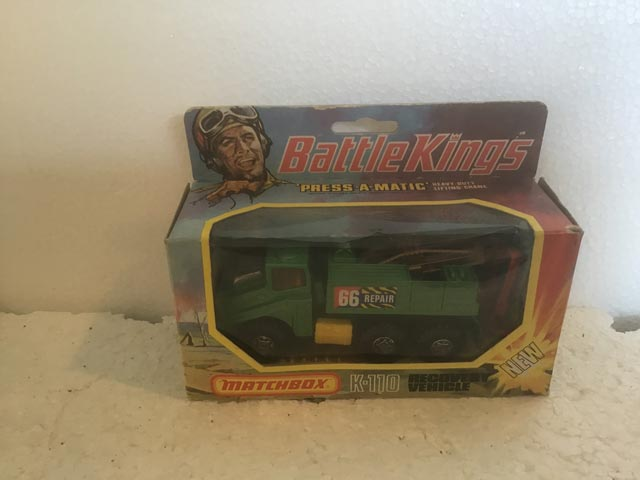 Matchbox Battle Kings K-110 Recovery Vehicle