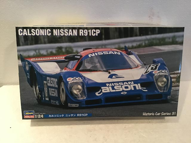 Hasegawa Model Kits Calsonic Nissan R91CP Historic Car Series 31 1/24 Scale - Model Kits