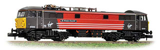 Graham Farish by Bachmann 371-751 Class 87 Locomotive Sir Winston Churchill R/N 87019 Virgin Trains
