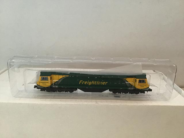 Graham Farish By Bachmann 371-635 Class 70 Powerhaul Co-Co Locomotive Freightliner R/N 70006
