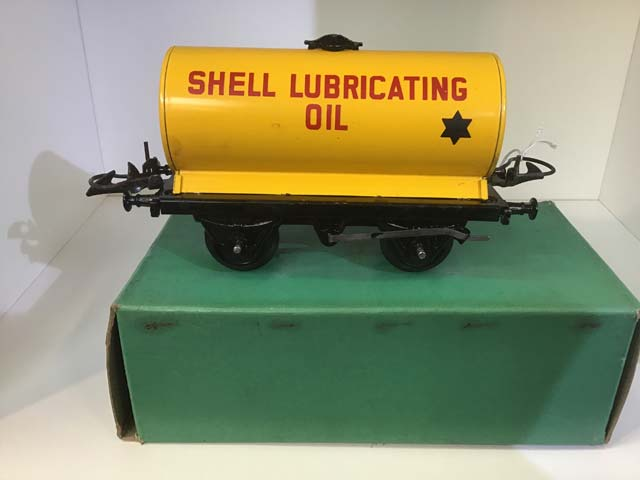 Hornby No 50 Tank Wagon Shell Lubricating Oil