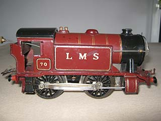 Hornby Railways O Gauge No 1 Special Tank 0-4-0T LMS 20 Volt Electric