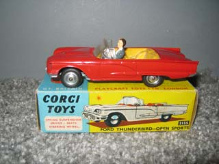 Corgi Toys 215S ThunderBird Open Sports Car
