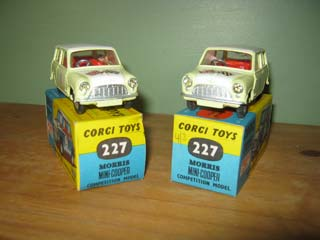 Corgi Toys 227 Mini Cooper Rally