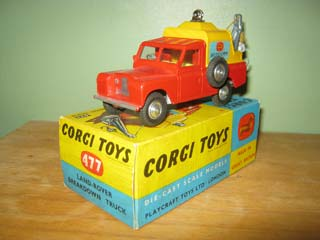 Corgi Toys 477 Land Rover Breakdown
