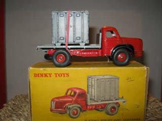 French Dinky 34B Berliet Container Truck