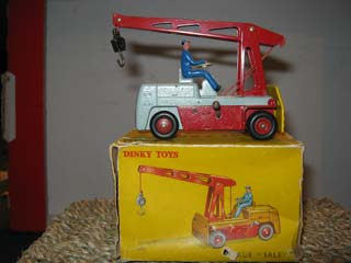 French Dinky 50 Salev Mobile Crane