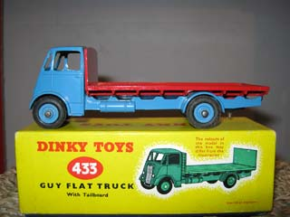 Dinky Toys 433 Guy Flat Truck With Tailboard
