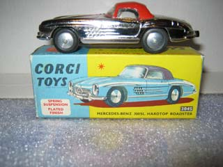 Corgi Toys 304S Mercedes-Benz 300 SL Hard Top