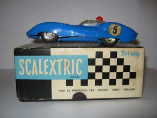 Scalextric Lister Jaguar with headlights C56
