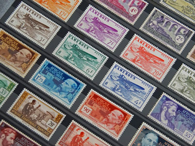 French Stamps Rare