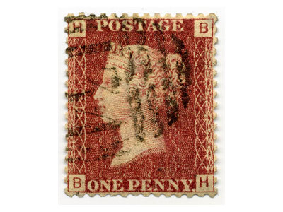 Penny Red UK Stamp