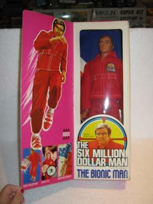 Steve Austin, The Six Million Dollar Man by Denys Fisher ...