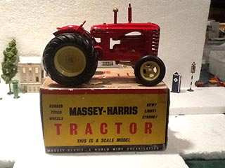 Lesney Products and Co Massey Harris Tractor