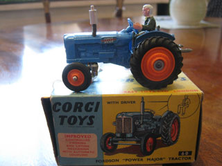 Corgi Toys No 60 Fordson Power Major Tractor
