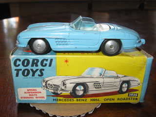 Corgi Toys 303S Mercedes-Benz 300SL Open Roadster
