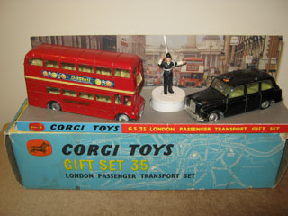 Corgi Gift Set No 35 London Traffic Set 1964-1968