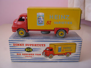 Dinky Supertoys No 923 Big Bedford Lorry Heinz 57 Varieties