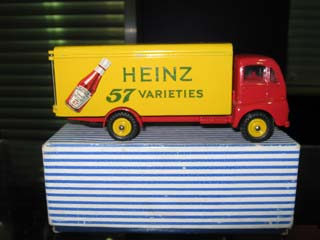 Dinky Super Toys 920 Guy Warrior Van Heinz 57 Varieties