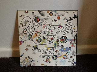 Vinyl Led Zeppelin lll
