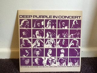 Vinyl Deep Purple in Concert