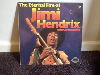 Vinyl Jimi Hendrix The Eternal Fire of Jimi Hendrix with Curtis Knight