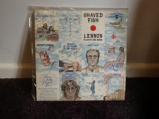 Vinyl Lennon Plastic Ono Band Shaved Fish