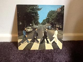 Vinyl Beatles Abbey Road